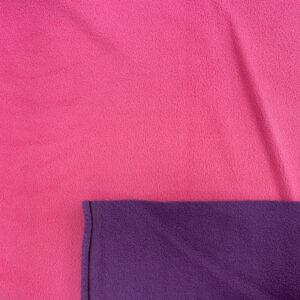 Fleece_kaksipuolinen_lila_pinkki_150cm